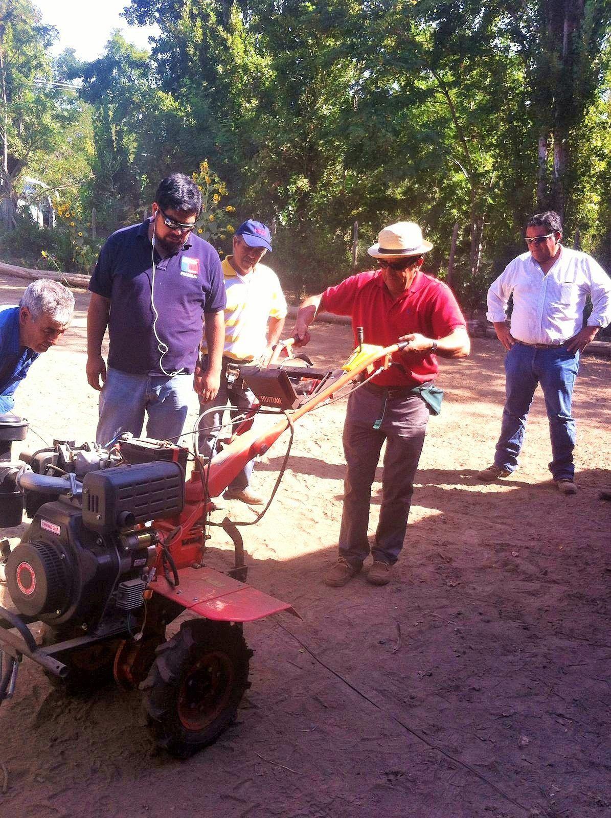 40 agricultores de María Pinto prueban los productos de Canamérica